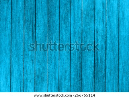 Vintage wood background with peeling paint - stock photo