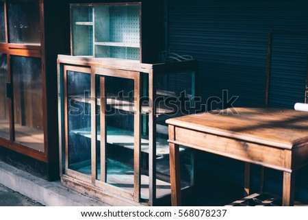 Wood Furniture Stock Images Royalty-Free Images  Vectors