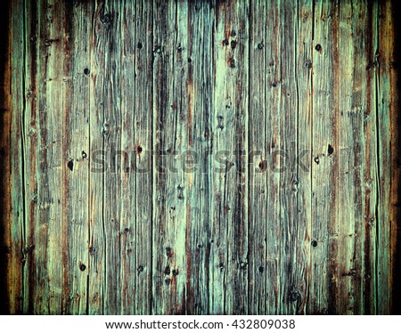 vintage wood texture. background old panels - stock photo