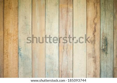 Vintage wood texture, multicolour background - stock photo