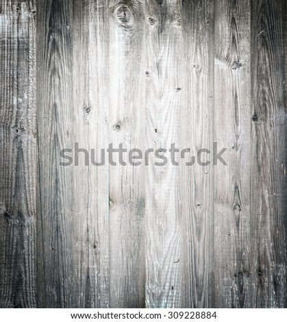 Vintage wood vignette surface background - stock photo