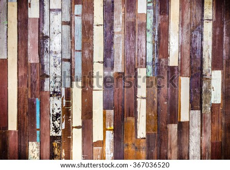 Vintage wooden background texture:retro wooden panel walls backgrounds:rustic plank wood floorboard backdrop:glazed arsh pastel wood tiles for interior,design,decorate:ornament wainscot picture. - stock photo