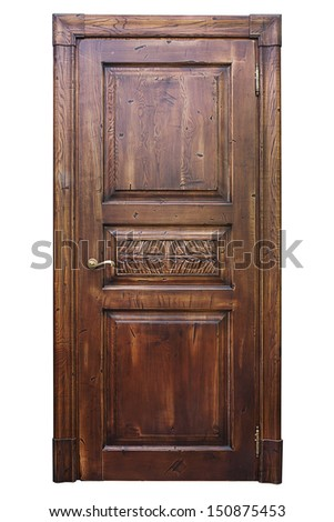 Groovy Wood Door Frame Stock Images Royalty Free Images Vectors Largest Home Design Picture Inspirations Pitcheantrous