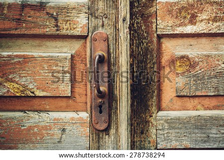 Rusty Door metallic old rusty padlock on old stock photo 568683268 - shutterstock