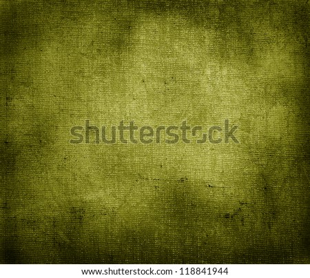 vintage yellow paper background - stock photo