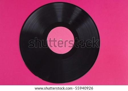 vinyl record - stock photo