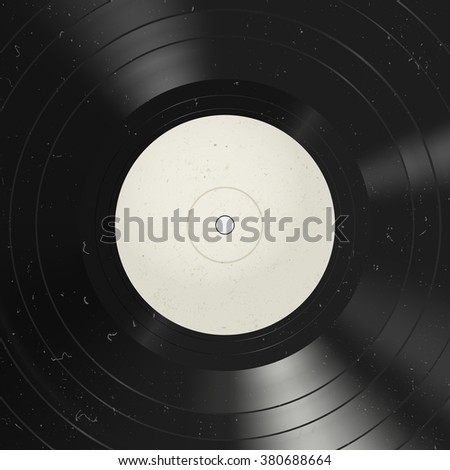 Vinyl record background. Vinyl with dust on the surface. Raster version.