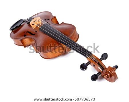viola isolated on white background instrument stock photo (royalty