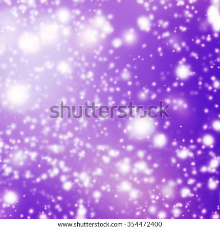 Violet Abstract background with glitter bokeh lights. Image is blurred and filtered.  - stock photo