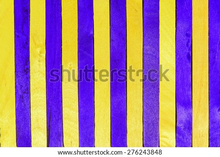 Violet and yellow strip wood abstract background  - stock photo