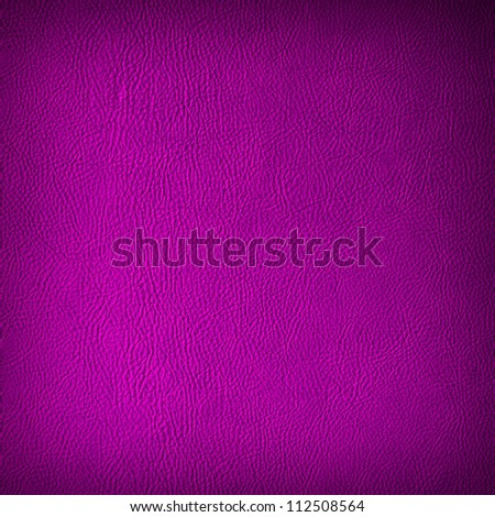 Violet leather texture or background