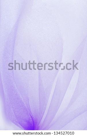 violet organza fabric texture - stock photo