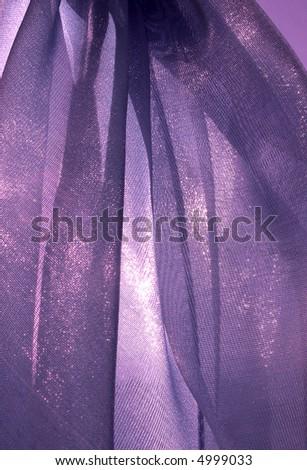 Violet organza - texture - stock photo