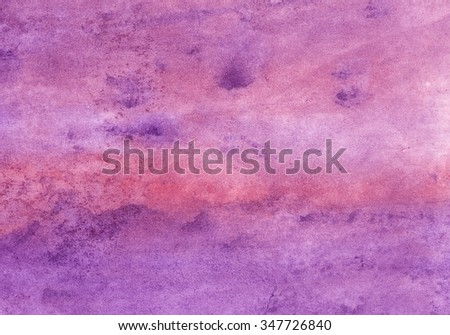 violet-pink watercolor background - stock photo