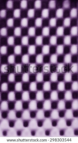 Violet purple abstract pattern foam chess texture background pattern - stock photo