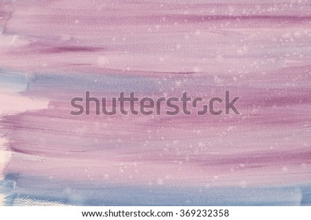 violet watercolor painted background on paper - stock photo