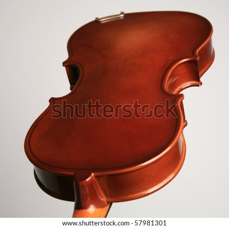 violin and light backround