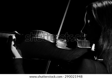 Violin player violinist Musical instruments orchestra Playing classical musician