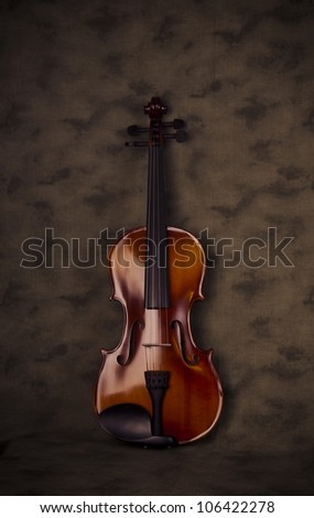 Violin Scene 1 - stock photo