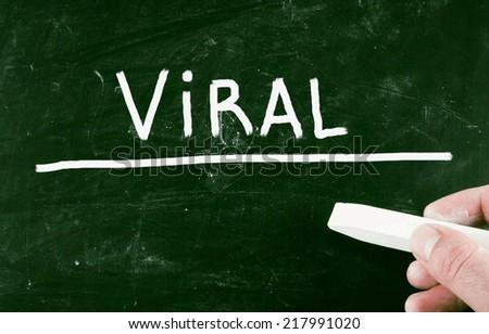 viral concept - stock photo