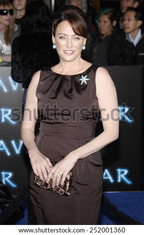 "Virginia Madsen at the Los Angeles Premiere of ""Avatar"" held at the Grauman's Chinese Theater in Hollywood, California, United States on December 16, 2009."