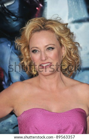 "Virginia Madsen at the Los Angeles premiere of her new movie ""Red Riding Hood"" at Grauman's Chinese Theatre, Hollywood. March 7, 2011  Los Angeles, CA Picture: Paul Smith / Featureflash"
