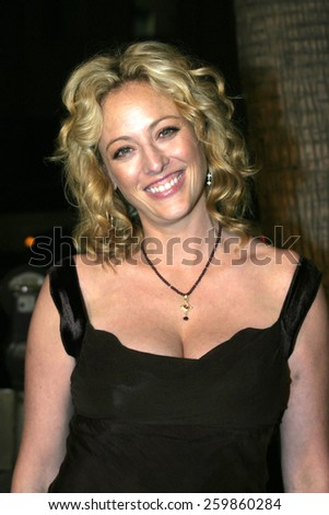 """Virginia Madsen at the """"Sideways"""" Los Angeles Premiere held at the Academy of Motion Pictures Arts and Sciences in Beverly Hills, California United States on October 12 2004. - stock photo"""