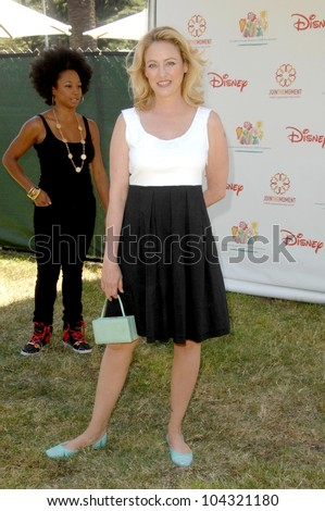 Virginia Madsen  at the 20th Annual A Time For Heroes Celebrity Carnival benefitting Elizabeth Glaser Pediatric AIDS Foundation. Wadsworth Theater, Los Angeles, CA. 06-07-09