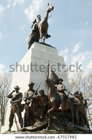 Virginia Monument - stock photo