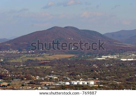 Virginia Mountain - stock photo
