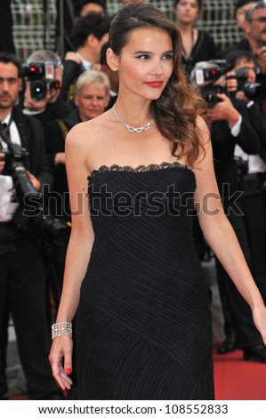"Virginie Ledoyen at the premiere of ""Rust & Bone"" in competition at the 65th Festival de Cannes. May 17, 2012  Cannes, France Picture: Paul Smith / Featureflash"