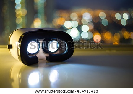 Virtual Reality equipment