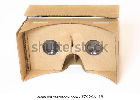Virtual Reality Glasses - stock photo