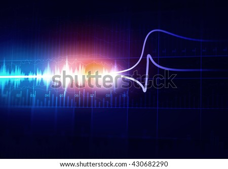 Virtual sound backdrop