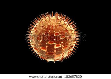 virus - stock photo