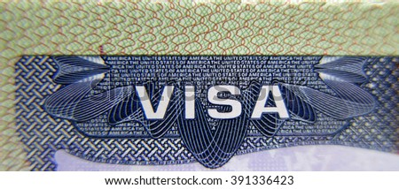 Visa for the United States