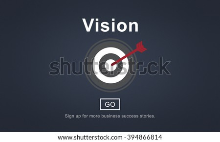 Vision Inspiration Homepage Ideas Concept