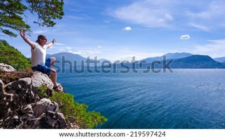 Visit Norway - stock photo
