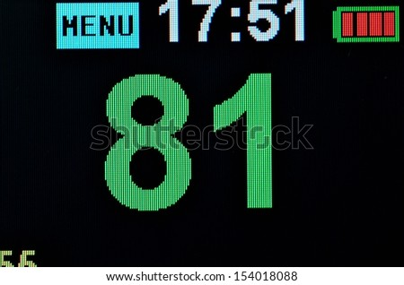 Vital Signs Monitor - stock photo
