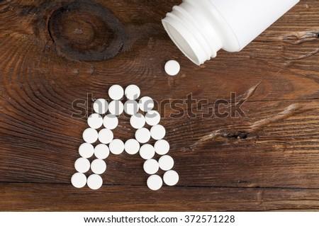 vitamin A - stock photo