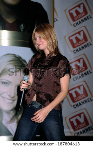 Vitamin C at the TV Guide Upfront NYC, 4/10/2001