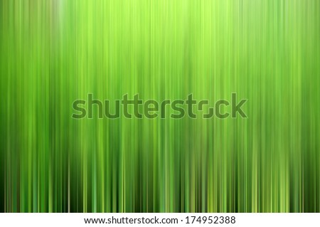 Vivid abstract background made of stripes in green and yellow colors - stock photo