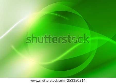 vivid green abstract technology background - stock photo