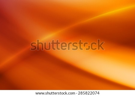 vivid orange curve and line abstract background - stock photo