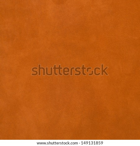 Vivid orange leather background