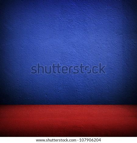 vivid room - stock photo