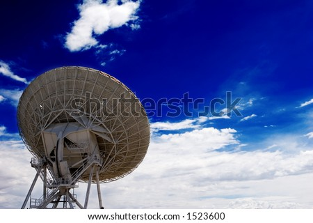 VLA part in New Mexico - stock photo