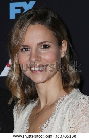 vLOS ANGELES - JAN 14:  Jill Latiano at the Baskets Red Carpet Event at the Pacific Design Center on January 14, 2016 in West Hollywood, CA - stock photo
