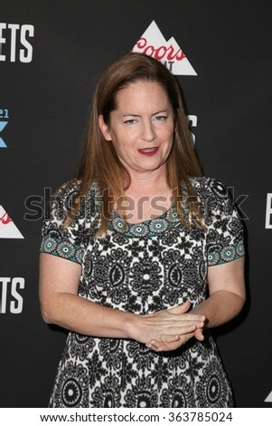 vLOS ANGELES - JAN 14:  Martha Kelly at the Baskets Red Carpet Event at the Pacific Design Center on January 14, 2016 in West Hollywood, CA - stock photo