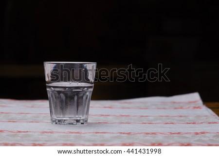 vodka drink - stock photo